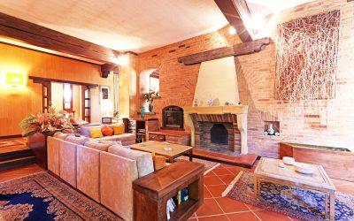 Villa di pregio nel Monferrato