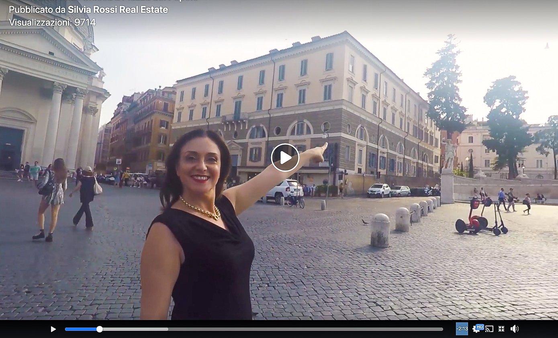 La foto mostra un fotogramma di un video creato da Silvia Rossi