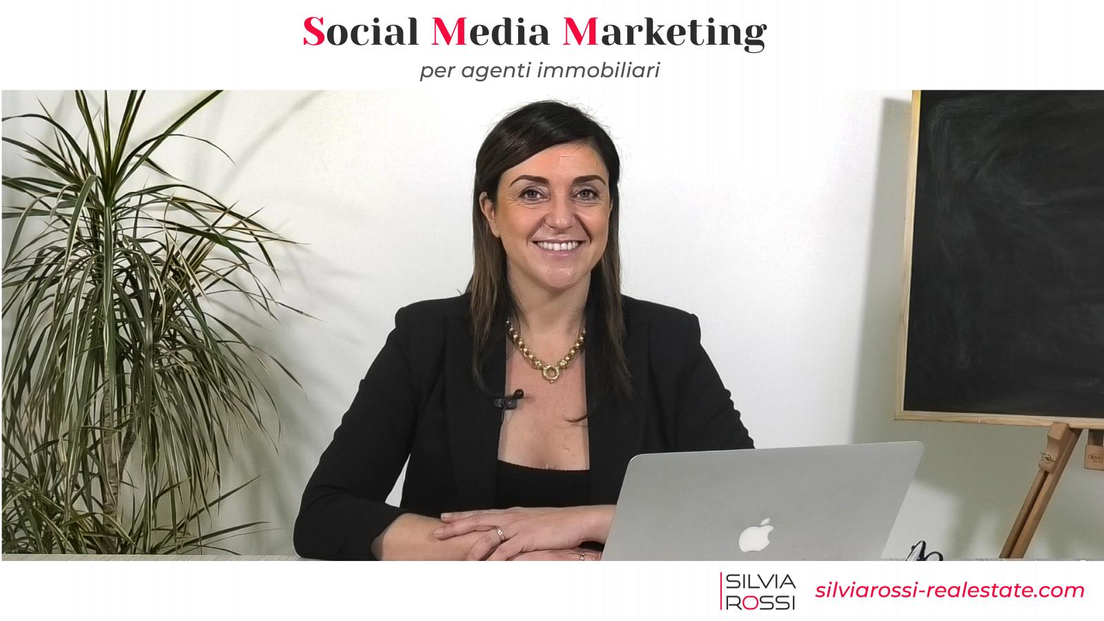 Silvia Rossi e il suo corso social media marketing per agenti immobiliari