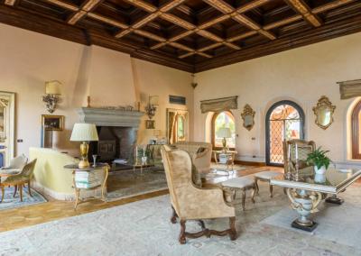 The Golden Villa - living room