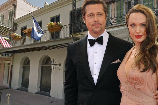 Le case di Angiolina Jolie e Brad Pitt