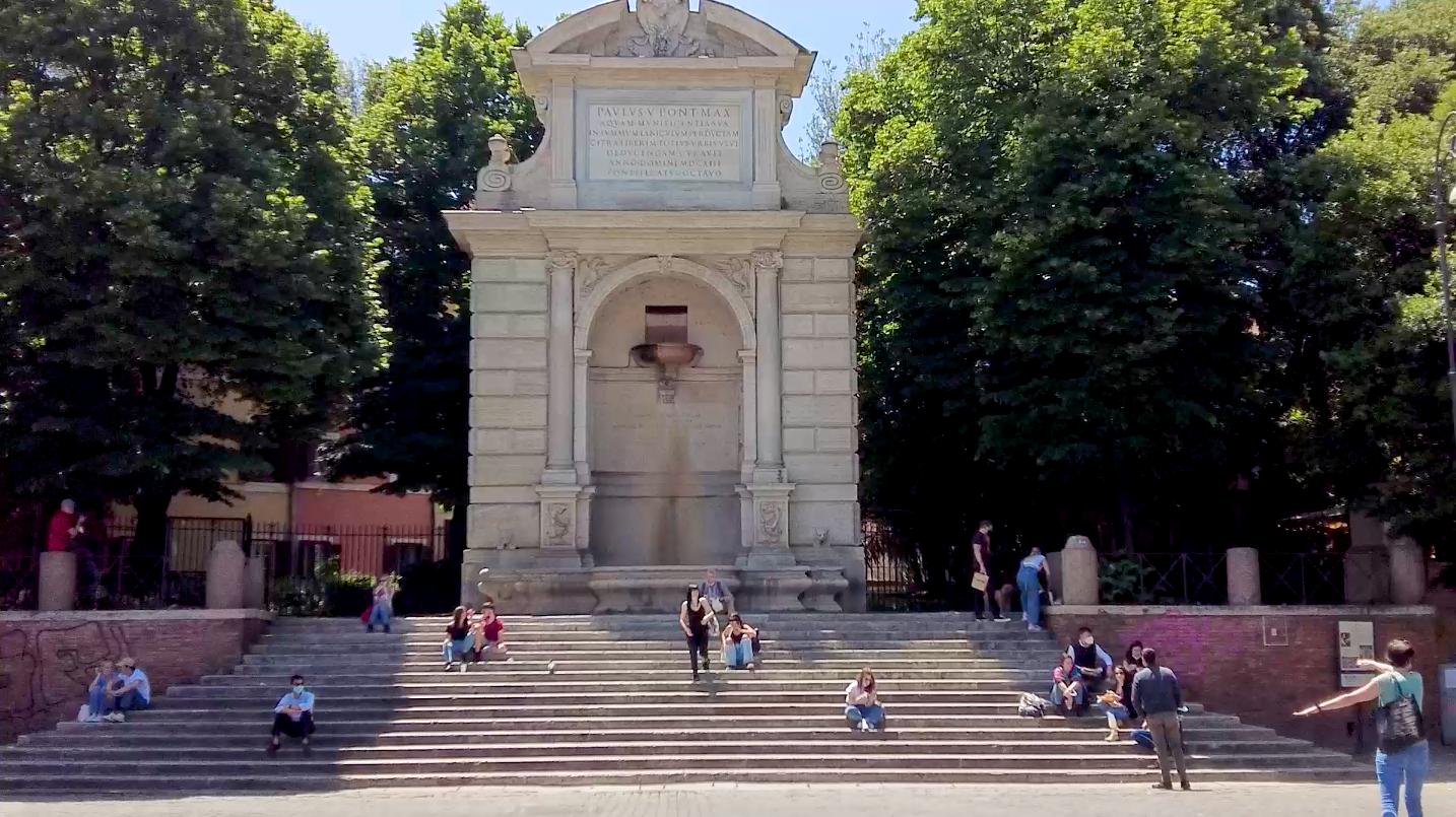 Trastevere, Piazza Trilussa