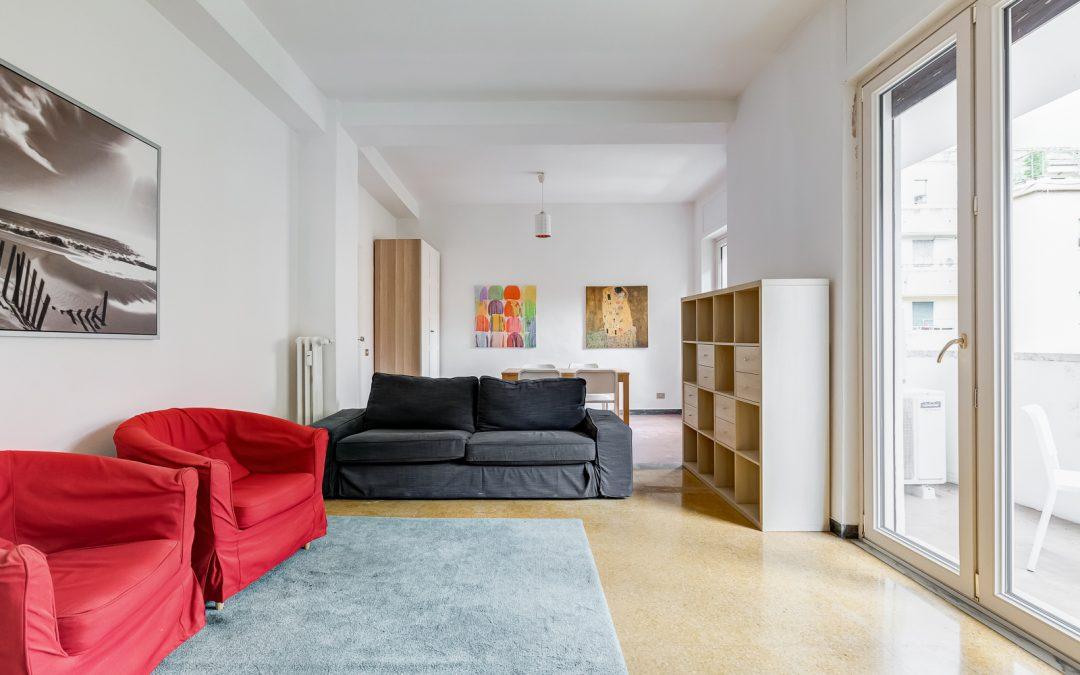 Ampio appartamento in affitto a Trastevere